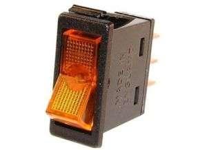 RV Interior INDICATOR LIGHTS BLACK W/RED S361 CAMPER