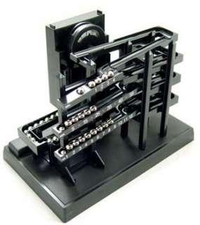 TIME MACHINE Ball ROLLING Bearing CLOCK Kinetic BOX |