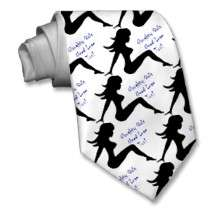 Naughty Girls Need Love Too! Custom Tie by DesignsbyMel