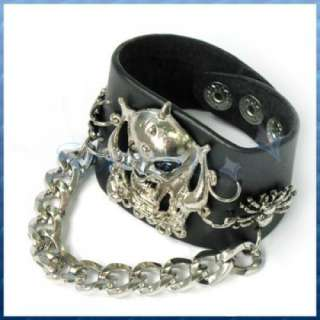 studded leather wristband bracelet sku 13 s000100506 view big image