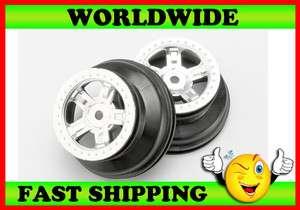 Traxxas 7072 SCT Black Chrome Dual Wheels 1/16 Slash 4X4 VXL