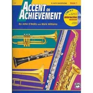 Accent on Achievement, Bk 1 E Flat Alto Saxophone, Book
