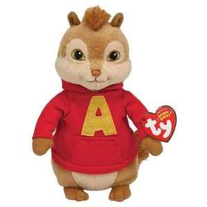 TY Beanie Babies Alvin Chipmunk: Dolls & Dollhouses