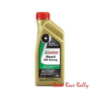 Castrol SRF x 1 litre Competition Standard DOT4 Brake Fluid