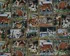 wildlife animals bear deer wolf tree curtain valance returns not