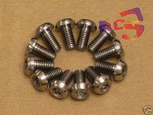 12pcs Titanium/Ti Bolt fit Hayes, Avid Disc Brake Rotor