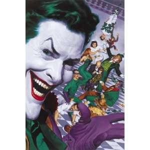 Batman Villains Poster Joker Riddler Two face Poison Ivy