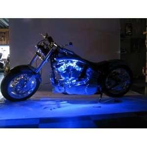 Blue LED Neon Motorcycle Lighting Kit Automotive