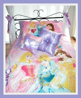 TWIN ULTIMATE DISNEY Princess Canopy BeddingGirls BedDisney