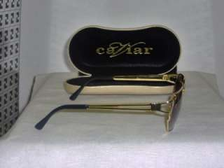 New Caviar Black & Gold Sunglasses Mod. 3080 & Case