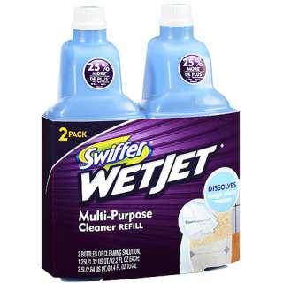 WetJet Multi Purpose Cleaner Refills, Open Window Fresh Scent, 84.4 oz