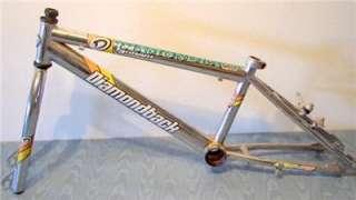 DIAMONDBACK IGNITOR Old School BMX Bike frame Chrome with Forks