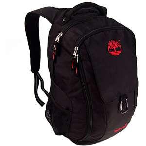 15.6 Medium Holderness Laptop Backpack, Black/Red Computers