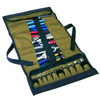 CLC 1173   32 Pocket Mechanics Wrench Ratchet Tool & Socket Roll Up
