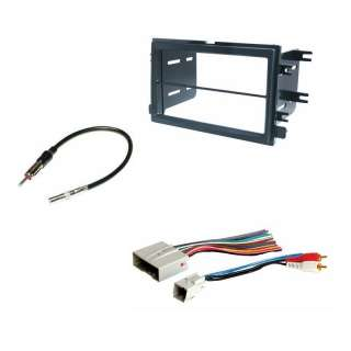 Double Din Dash Radio Stereo Install Kit +Wire Harness