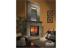 BGD90NT Zero Clearance Direct Vent Natural Gas Fireplace w/16 sq. ft