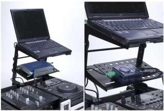 AMERICAN AUDIO Uni LTS DJ Universal Laptop Stand Black 640282001069