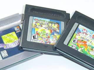GAME & WATCH GALLERY 1 2&3 LOT~Gameboy Color/Advance/SP