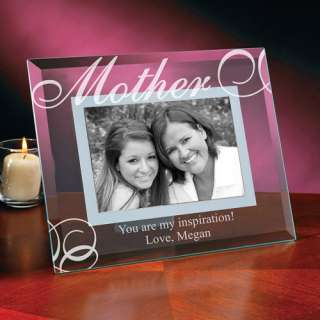 Personalized Mom Glass Frame Personalized Gifts