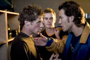 Ashton Holmes as Jack Stall and Kyle Schmid as Bobby Jordan