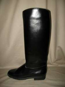 GALO Italy Equestrian Riding Style Boots with Rubber Soles Size 7.5
