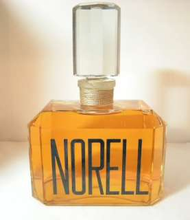 HUGE NORELL PERFUME FACTICE DUMMY STORE DISPLAY 8.25