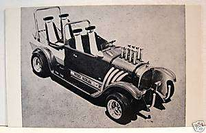 TV Beverly Hillbilly Hot Rod Custom Old Vending Card