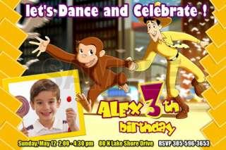 1ST BIRTHDAY PARTY INVITATION C2 CUSTOM INVITE PHOTO  20 designs