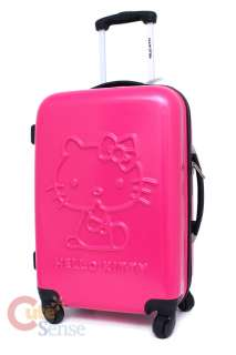 Sanrio Hello Kitty Emblems Trolley Bag, Hard Suit Case , Luggage