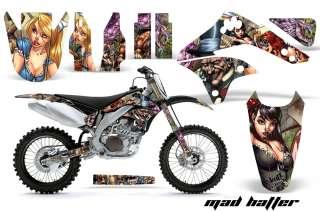 AMR RACING MOTORCROSS MX STICKER WRAP GRAPHIC DECALS KAWASAKI KXF 450