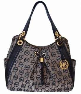 Michael Kors Monogram Signature LUDLOW Large Shoulder Tote Bag Handbag