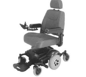 Merits Vision Sport Mid Wheel Drive Power Wheel Chair