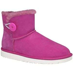 UGG Mini Bailey Button   Womens   Sport Inspired   Shoes   Neon