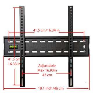 low profile flat screen level lcd led TV wall mount 1VA