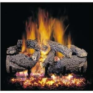 Peterson Gas Logs 18 Inch Noble Oak Vented Propane Gas Log Set