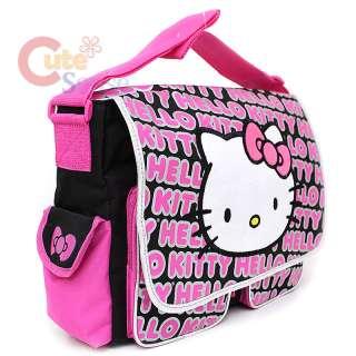 Sanrio Hello Kitty Messenger Diaper Bag Fece Typo 2