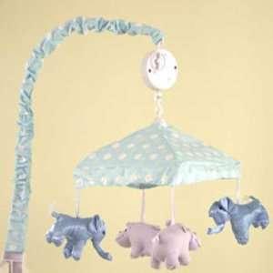 Noahs Ark Animal Mint Green Crib Mobile Baby