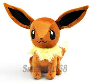 13 Pokemon Cute Eevee Plush Soft Doll Toy New+PB22