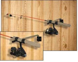 Ice fishing fish house rod holder 5 gallon bucket seee for Ice fishing rod holder