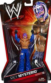 REY MYSTERIO WWE SERIES 12 TOY WRESTLING ACTION FIGURE