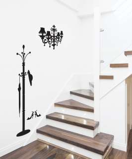 Hanger Adhesive Removable Wall Decor Sticker Decal Vinyl Paper