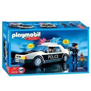 Playmobil Police Squad   Black/White, #3329: Toys & Games
