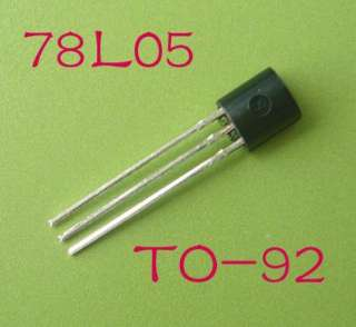 50pcs 78L05 Positive Voltage Regulator +5V 100mA TO 92